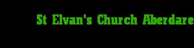 St Elvan's Church Aberdare